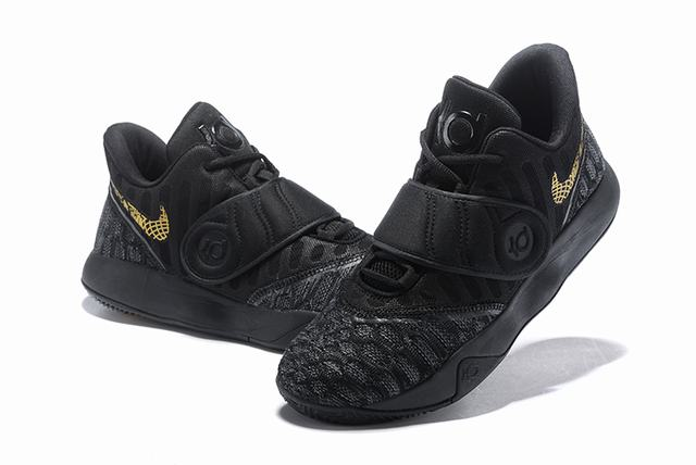 Nike KD Trey 5 VI Weave Shoes Black Gold
